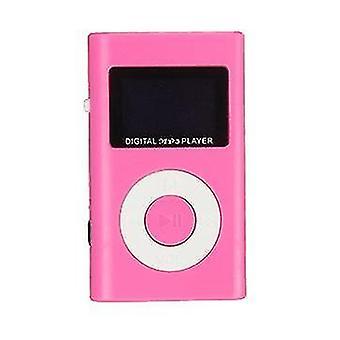 LCD-skærm til mini USB MP3-musikafspiller understøtter 32 GB Micro SD TF-kortplads