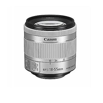 Canon Camera Lens Ef-s 18-55mm F4-5.6 Is Stm Silver (white Box)