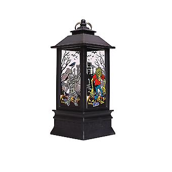 Swotgdoby Halloween Electronic Candle Lantern, For Home Party Porch Decoration