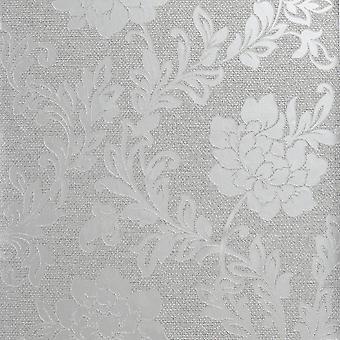 Arthouse Calico Kwiatowy Szary Tapety 921100