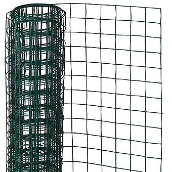 Nature Mesh Wire Square 1x5m 13mm Plastic Coated Steel