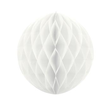 40cm White Tissue Paper Honeycomb Ball Wedding Party Decoration