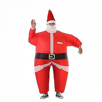 Inflatable Suit,santa Claus Costume Unisex Adult Kids(120CM To 155CM)