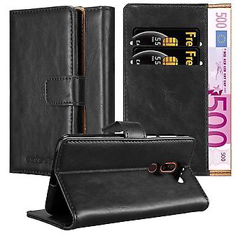 Case for Nokia 7 PLUS Foldable Phone Case - Cover - with Stand Function and Card Slot