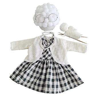 تصوير حديثي الولادة الدعائم ملابس الجدة