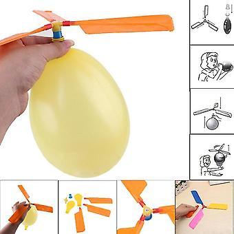 Helicóptero balão voando brinquedo para festa de Natal infantil