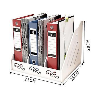 Nordic Storage Box Creativity Office Desk Stationery Box Rack Book Box Document Letter File Tray