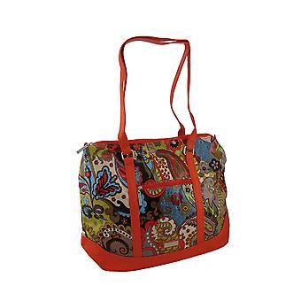 Hadaki Hannah Tote Paisley Print Oversized Bag