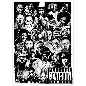 Rap jumalat Maxi juliste