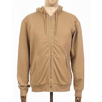 Colorful Standard Organic Cotton Hooded Jacket - Desert Khaki