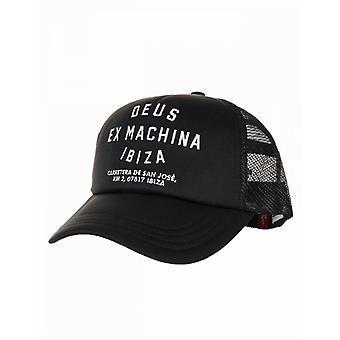 Deus Ex Machina Ibiza Address Trucker Hat - Black