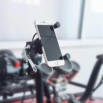 電話は安定した充電器のオートバイの電話ホルダーを充電可能に立つ