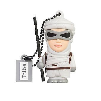 Disney Star Wars Rey USB Stick 16GB Pen Drive USB Memory Stick Flash Drive, Gift Idea 3D Figure, PVC