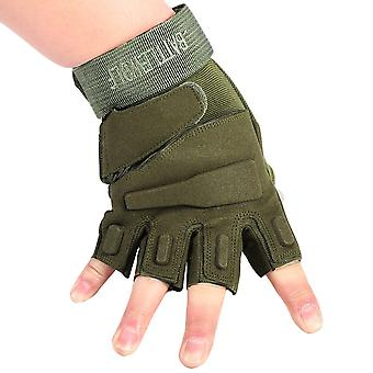 Men Fitness Gym Half Finger Gloves Weight Lifting Exercise Sports Glove
