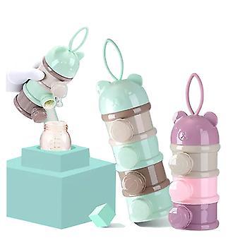 Babymilchpulver Boxen Säuglingsanfangsnahrung Behälter Snack Lagerung Seite Gießen Design