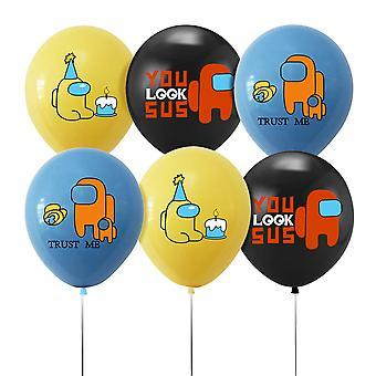 Werwolf Thema Party Ballon Pull Flag Set Geburtstag Banner Kuchen Karte Dekoration