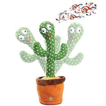 Dancing Cactus Peluche Juguetes Cantar, bailar y grabar juguete electrónico