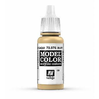 Vallejo Model Color 17ml Acrylic Paint - 976 Buff