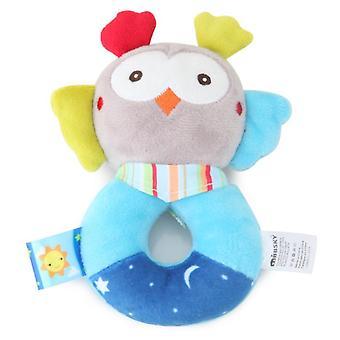 Juguetes de cascabel para dentición de bebé, bebé juguete recién nacido suave pistola agarrador shaker