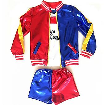 Suicide Squad Clown Girl Children's Clothing Cosplay