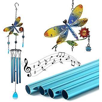 اليعسوب الرياح الدقات، رومانسية الزجاج الملون الرياح الدقات هدايا عيد الميلاد لأمي الداخلية الديكور في الهواء الطلق ديكور فريدة من نوعها لحديقة المنزل