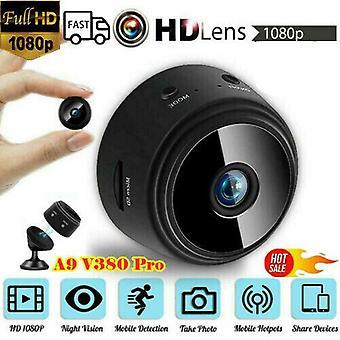 1080P WiFi inalámbrico interior / exterior HD MINI cámara IP magnética CCTV Seguridad en el hogar