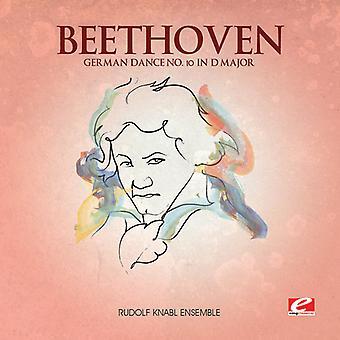 Lehtonen Beethoven - Saksa Dance 10 D-duuri [CD] USA tuonti