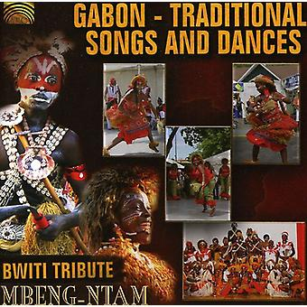Mbeng-Ntam - Gabon-Traditional Songs & Dances [CD] USA import