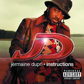 Jermaine Dupri - Instructions [CD] USA import
