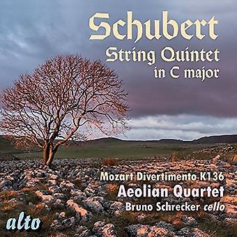 Quatuor Eolien Bruno Schrecker - Schubert: Quintette à cordes en do majeur; Import USA moz [CD]