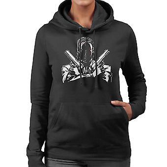 John Wick Dual pistolen vrouwen Hooded Sweatshirt