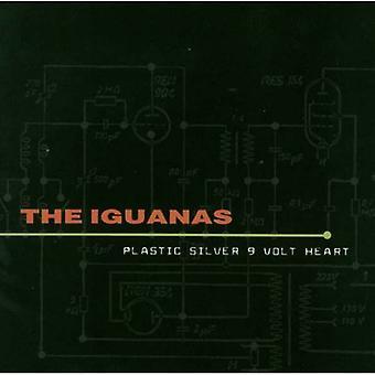 Iguanas - Plastic Silver 9 Volt Heart [CD] USA import