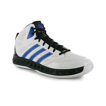Adidas Hoop Fury mäns basketskor [vit]