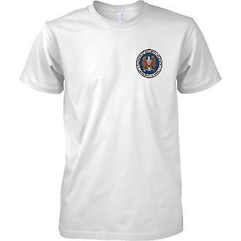 National Security Agency - NSA - Agencia de espionaje de Estados Unidos - militar - niños pecho diseño camiseta