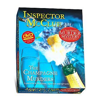 Inspector McClue asesinato misterio - los asesinatos de Champagne