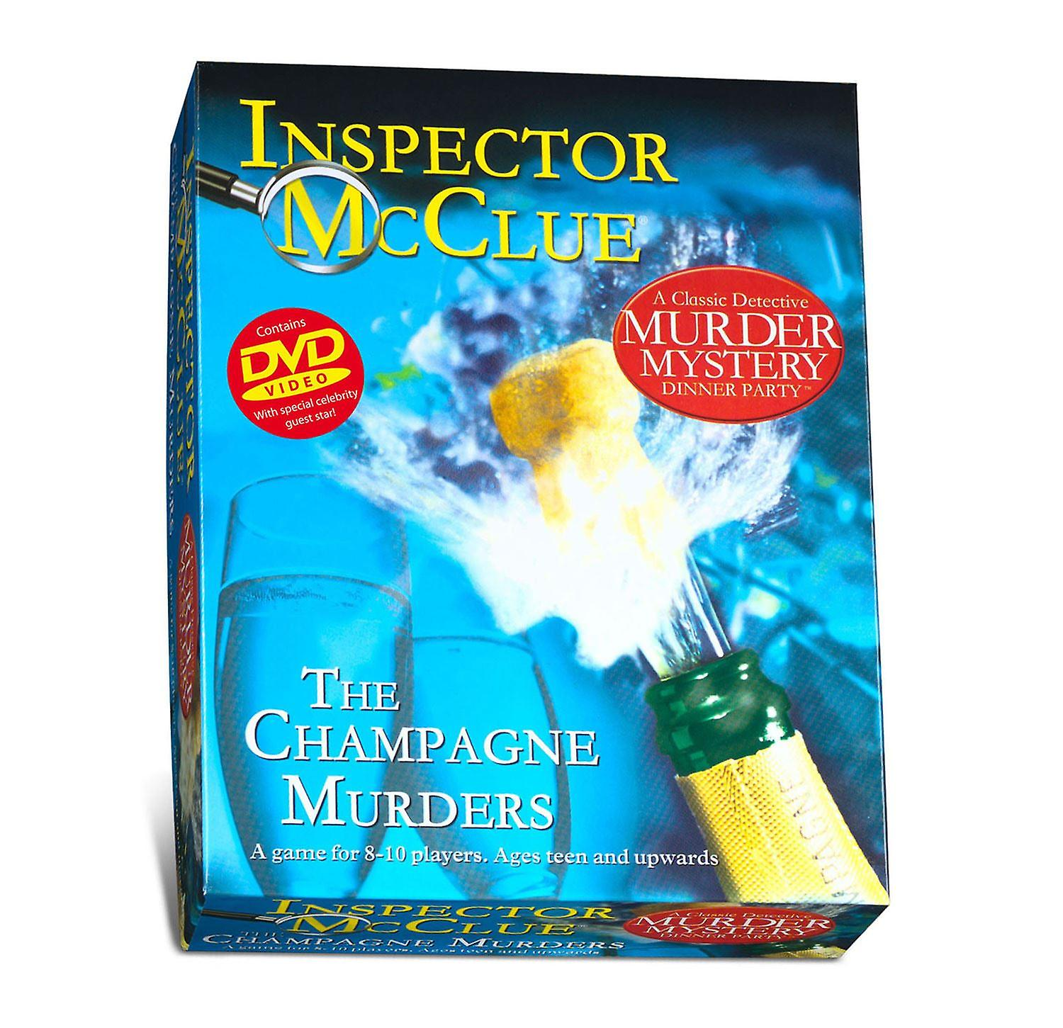 Inspector McClue Murder Mystery - The Champagne Murders
