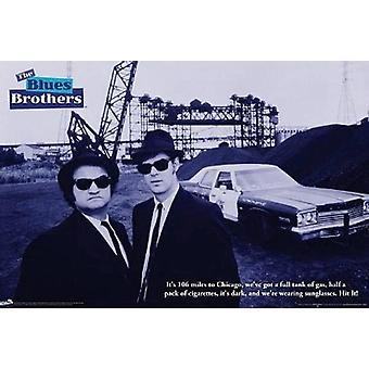 Blues Brothers cite affiche Poster Print