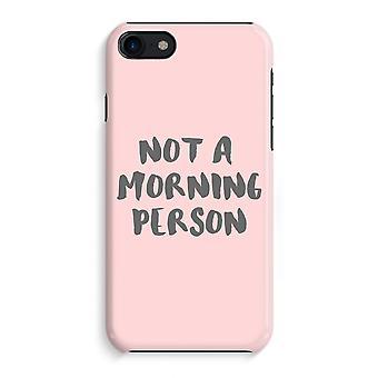 iPhone 8 pełny głowiczki (błyszcząca) - rano osoba