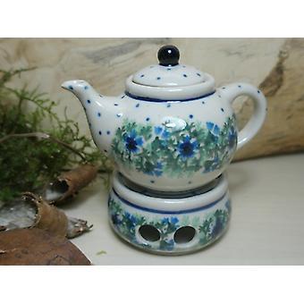 Teekanne Stövchen, Miniatur, Höhe 9 cm, Tradition 7, Bunzlauer Keramik - BSN 5836