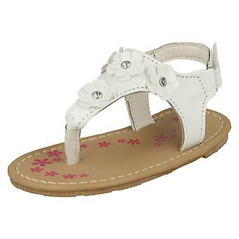 Chicas punto de dedo del pie Post verano sandalias H0223