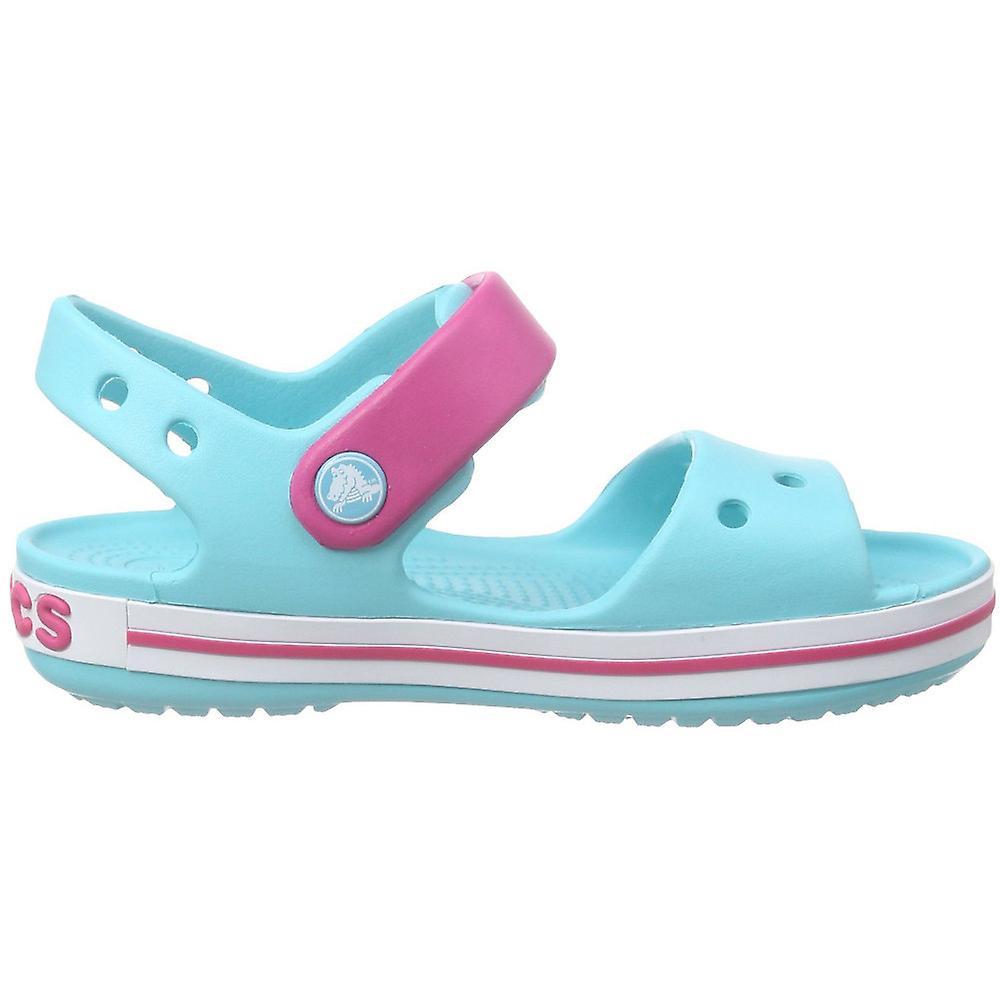 Crocs Girls//Boys Crocband Moulded Croslite Ankle Strap Fastening Sandal