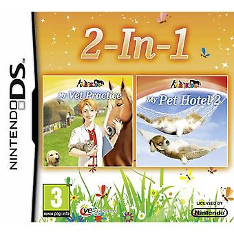 My Vet Practice and Pet Hotel 2 Double Pack (Nintendo DS3DS) - Neu