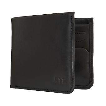 Borsa portafoglio portamonete nero Levi BB´s uomo 6326