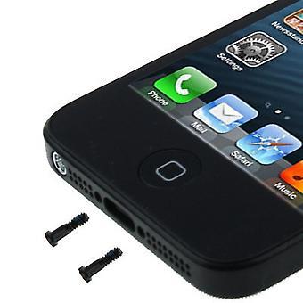 Pentalobe Torx case screws for Apple iPhone 5 5s back cover 2 pieces black