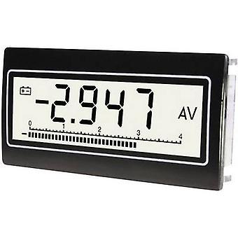TDE Instruments DPM-802-TW-TV Digital rack-mount meter Voltmeter and ammeter TDE Instruments DPM-802-TW-TV Top View display Voltage: 0.1 mV - 300 V