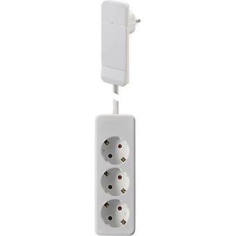 NVB 104556 Socket strip (w/o switch) White CEE plug 1 pc(s)
