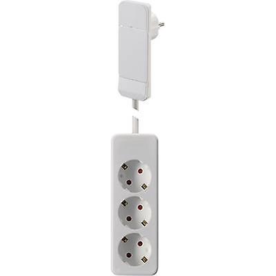 NVB 104556 Socket strip (w/o switch) White CEE plug