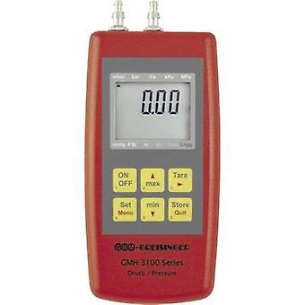 Greisinger GMH3161 - 07h pressão manométrica pressão de ar, gás não corrosivo, gás corrosivo-0.001 - 0,07 bar