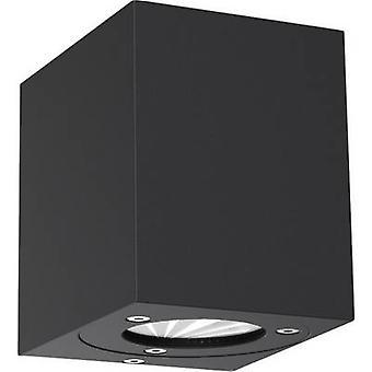 Nordlux Canto Kubi 77521003 LED ulkona seinälle vaalea 10 W lämmin valkoinen musta