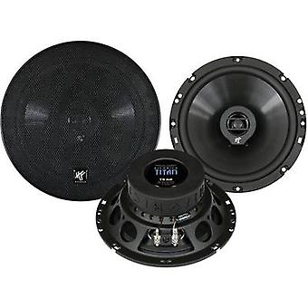 Hifonics Titan 2 way coaxial flush mount speaker kit 180 W